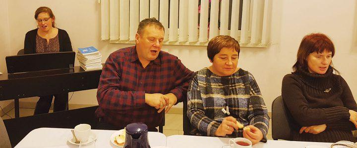 Spotkanie noworoczne chórzystów w Dębowcu