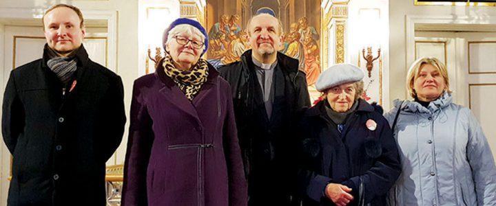 Spotkanie  z Janiną Unicką – córką ks. Jana Zachariasza Unickiego