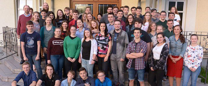 Wyjazd skoczowskiej młodzieży na spotkanie w Oldrzychowicach