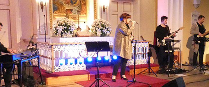 Koncert Beaty Bednarz w naszym kościele w Skoczowie