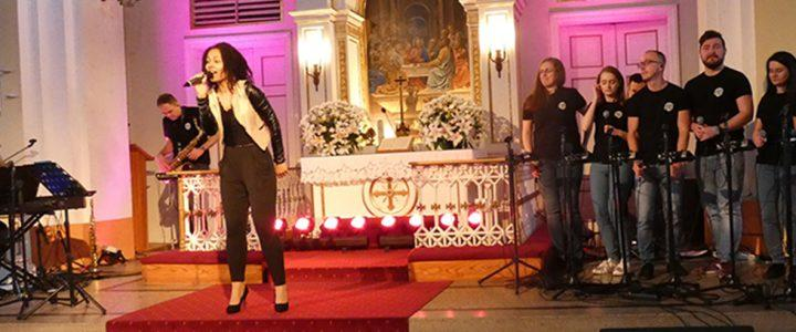 Koncert Anny Marii Mbayo w naszym kościele w Skoczowie