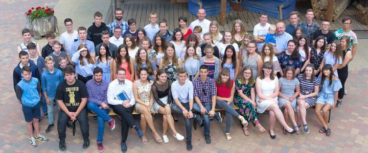 Obóz młodzieży w Marylinie