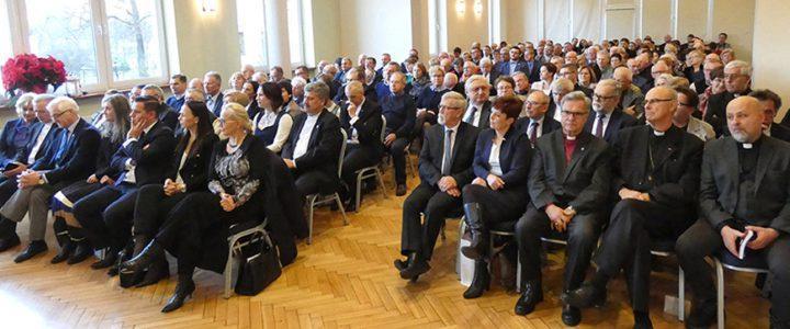 Spotkanie Marszałka Senatu RP Tomasza Grodzkiego z Ewangelikami diecezji cieszyńskiej