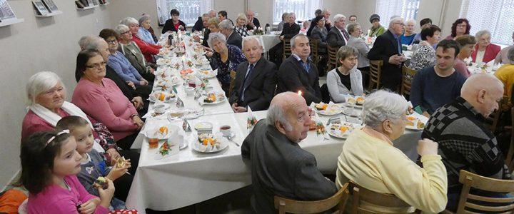 Nabożeństwo i spotkanie świąteczne dla seniorów i osób niepełnosprawnych w Skoczowie