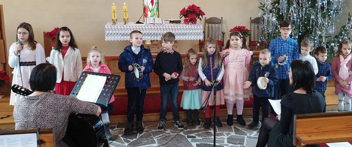 Świąteczne nabożeństwo rodzinne w Pierśćcu