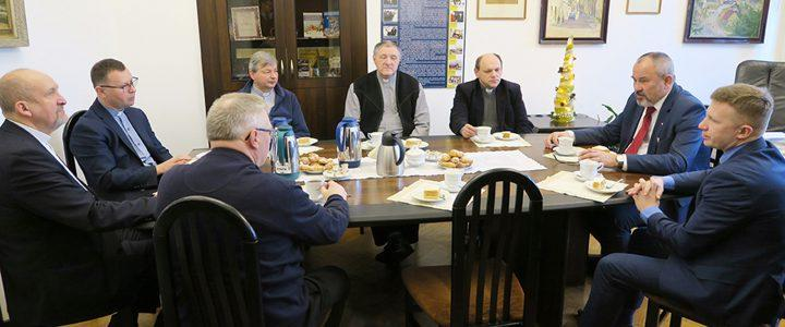 Spotkanie Burmistrza z proboszczami
