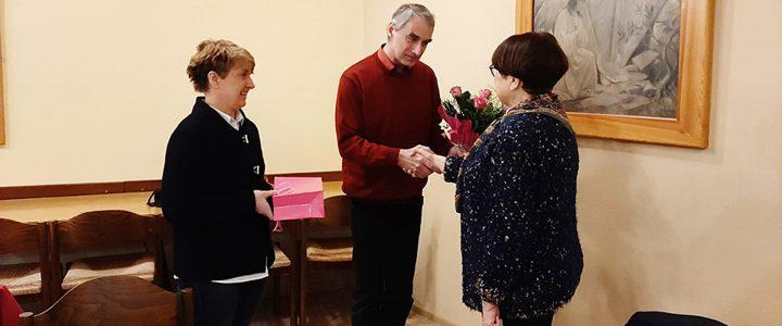 Koło Pań w Pierśćcu i pożegnanie p. Ilony Hajewskiej