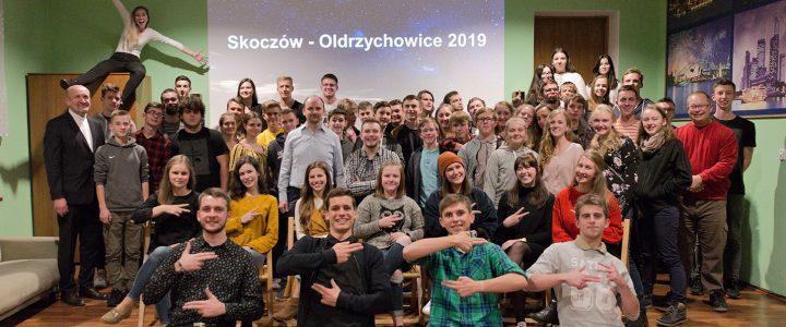 Młodzież z Oldrzychowic z rewizytą w Skoczowie