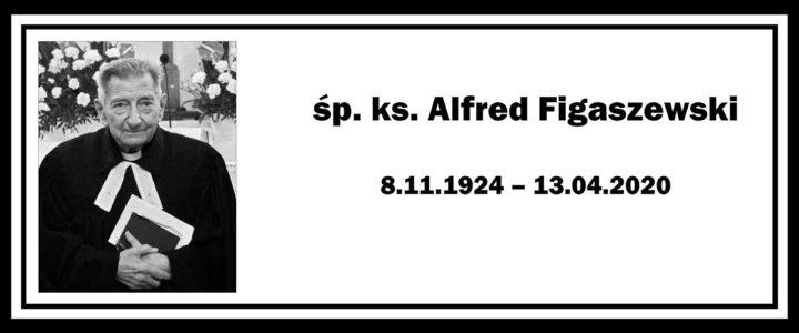 Zmarł ks. Alfred Figaszewski
