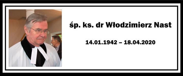 Zmarł ks. dr Włodzimierz Nast