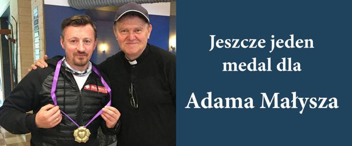 Medal 500-lecia Reformacji dla Adama Małysza