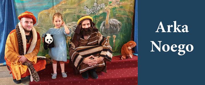 """O Noem i budowanej przez niego Arce opowiedział dzieciom Teatr """"Eden"""" z Krakowa"""