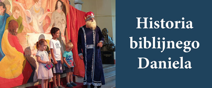 """O Danielu i o jego wierności Bogu opowiedział dzieciom Teatr """"Eden"""" z Krakowa"""