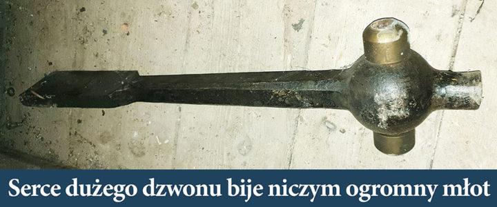 """Duży dzwon skoczowski znowu dzwoni """"z sercem"""""""