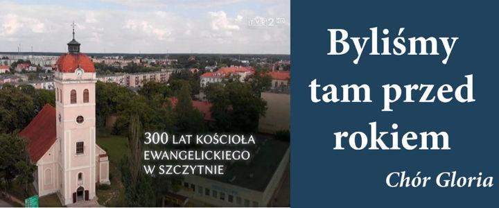Relacja TVP-2 z jubileuszu 300-lecia kościoła w Szczytnie