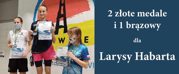Larysa Habarta zdobyła 2 złote medale i 1 brązowy