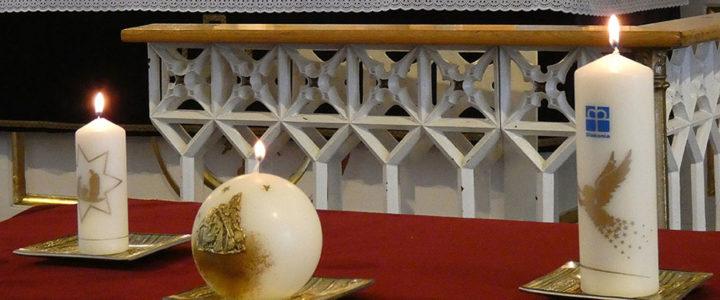 Inauguracja Świecy Wigilijnej w Skoczowie