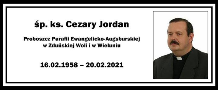 Zmarł ks. Cezary Jordan