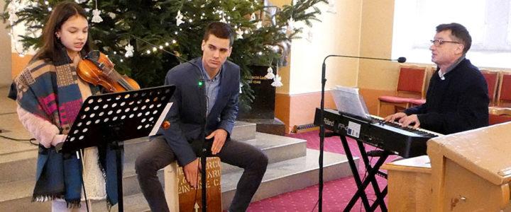 Występy na nabożeństwach w okresie Bożego Narodzenia
